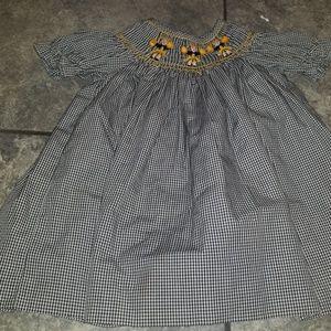 Other - Smocked Cheerleader Dress by Brandbury Cross sz 9m